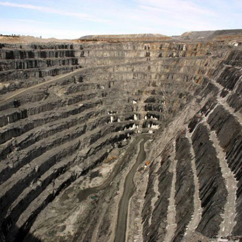 Z87 Open Pit Mine formerly operated by Inmet (1996-2010)