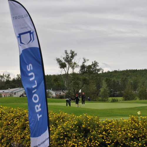 United Way Golf Tournament in Chibougamau where Troilus was the lead sponsor