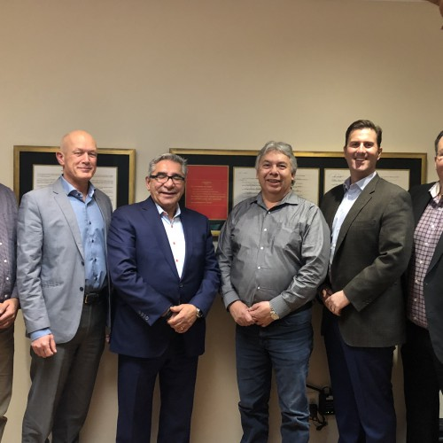 Meeting with the Grand Chief Dr. Abel Bosum and Chief Thomas Neeposh - 2018