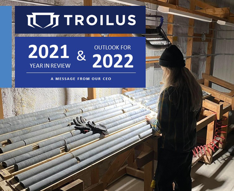 Troilus 2020 Year in Review & Outlook for 2021 - A Message from Our CEO